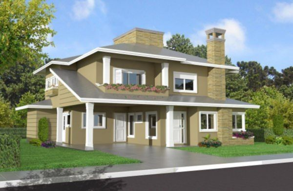 Wembley House - Casa 3 Dorm, Planalto, Gramado (MF16907) - Foto 4