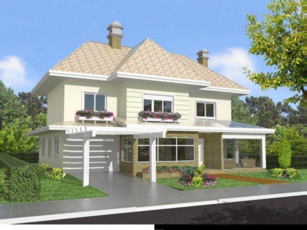 Wembley House - Casa 3 Dorm, Planalto, Gramado (MF16908) - Foto 3