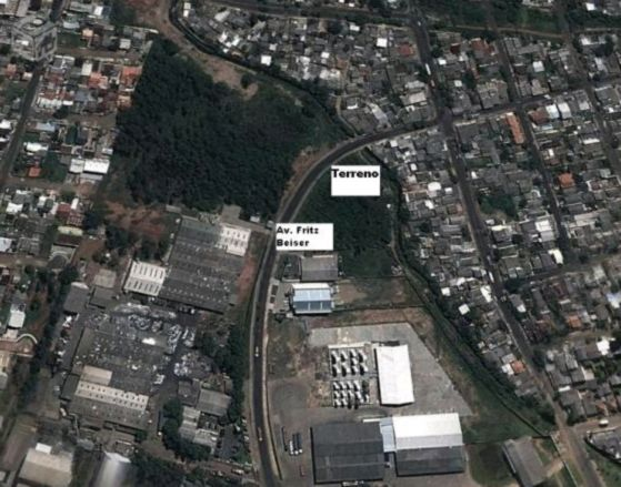 Terreno, Distrito Industrial, Cachoeirinha (MF19382)