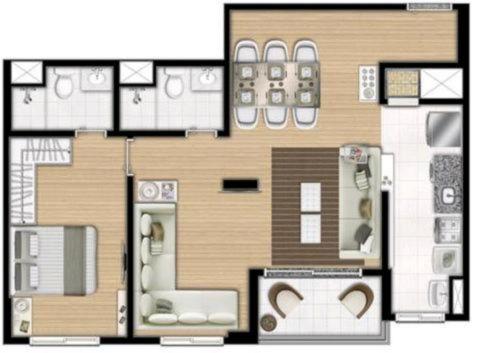 Último Apartamento de 2 Dormitórios, com 1 Suíte - Foto 14