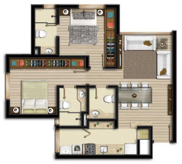 Apartamentos de 2 dormitórios em Rio Branco, Porto Alegre - RS