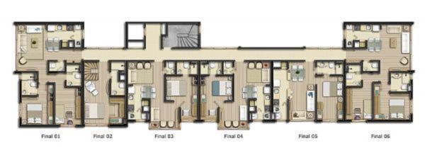 Apartamentos de 2 dormitórios em Mont Serrat, Porto Alegre - RS