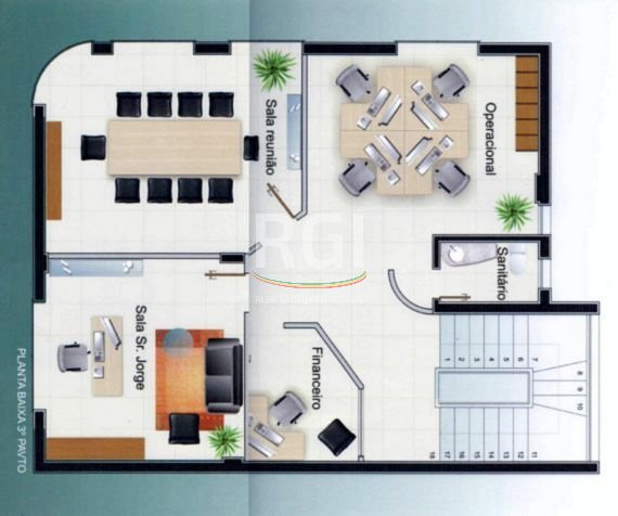 Prédio de esquina em uma localização maravilhosa, 3 andares com a possibilidade de mais 1 andar, semi-mobiliado, splits instalados, sala de reuniões, diretoria, administrativos, recepção, cozinha, etc.