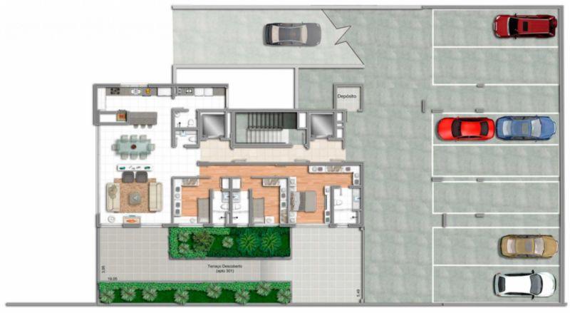 Coberturas de 3 dormitórios em Bela Vista, Porto Alegre - RS