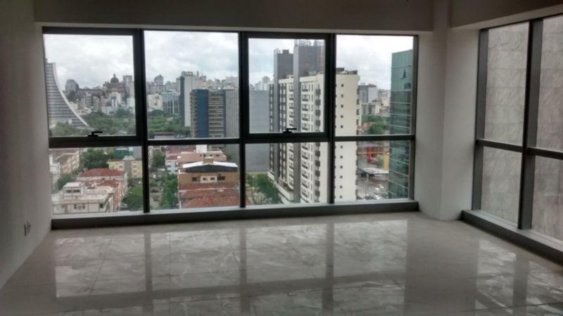 Sala com 44,63m, no 14 andar, com espera para split, com vista para Avenida Borges de Medeiros. Prédio com auditório, sala de reuniões, gerador, acesso por catracas biométricas e acesso para deficientes físicos.